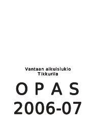 Vantaan aikuislukio antaan aikuislukio Tikkurila - Nikkemedia.fi