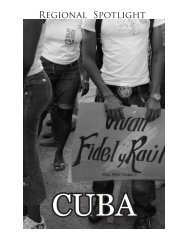 Regional Spotlight: Cuba - International Affairs Journal at UC Davis