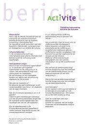 Nieuwsbrief juni 2010 - ActiVite