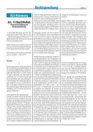OLG Nürnberg v 18. Juli 2011 - 1 Ws 151-11.indd - Forum Strafvollzug