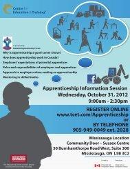 apprenticeship info - Apprenticesearch.com