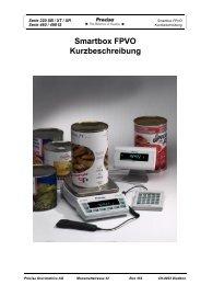 Smartbox FPVO Kurzbeschreibung - Precisa