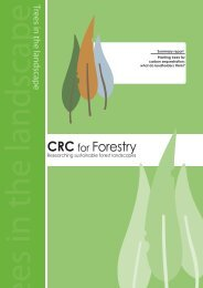 Planting trees for carbon sequestration - CRC for Forestry
