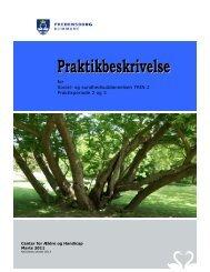 for Social- og sundhedsuddannelsen TRIN 2 Praktikperiode 2 og 3