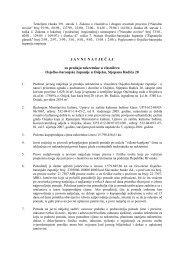 J A V N I  N A T J E Č A J za prodaju nekretnine u vlasništvu Osječko ...