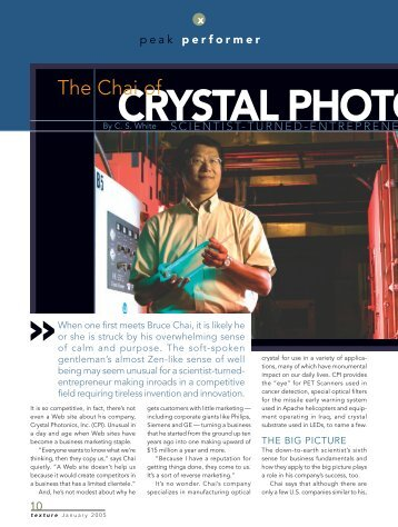 CRYSTAL PHOTO