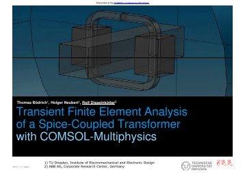 (Microsoft PowerPoint - TRANSI~1 [Mode de ... - COMSOL.com
