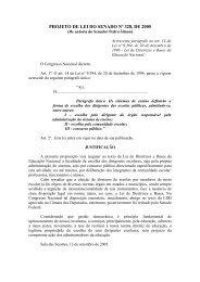 PROJETO DE LEI DO SENADO Nº 328, DE 2005 - Nova Escola