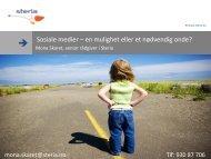 Sosiale medier – en mulighet eller et nødvendig onde? - Energi Norge