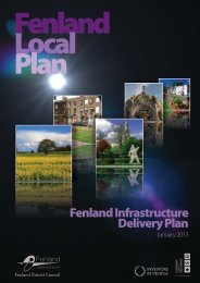 Fenland Infrastructure Delivery Plan - Fenland District Council