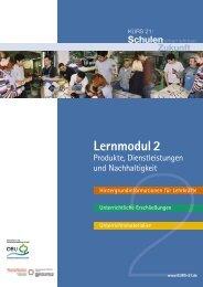Produkte, Dienstleistungen und Nachhaltigkeit - Kurs 21