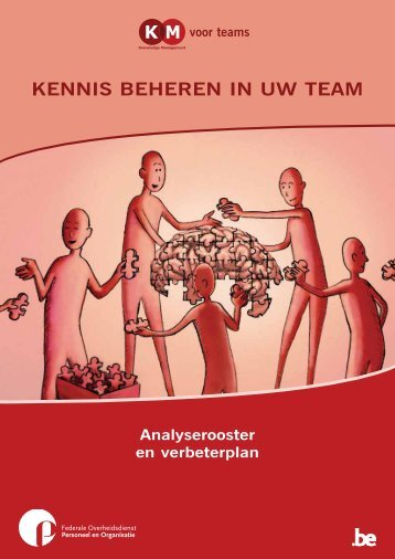 Kennis beheren in uw team. Analyserooster en verbeterplan - Fedweb