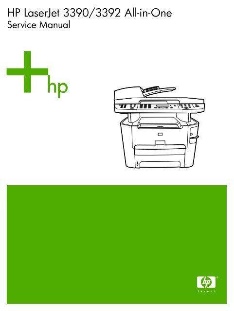 Hp color laserjet 1500 2500 service repair manual download tradebit.