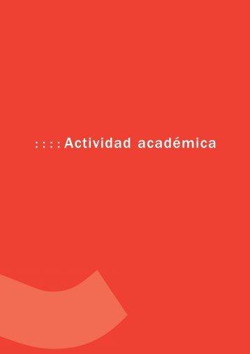 Actividad académica (456 Kb) - Instituto Cervantes