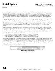 HP StorageWorks 8/24 SAN Switch - NextWarehouse.com