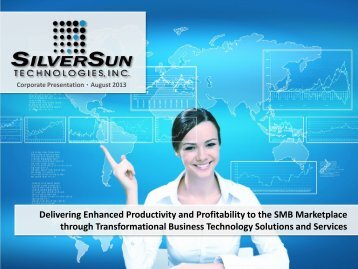 Delivering Enhanced Productivity and Profitability to the SMB ...