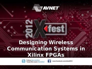 Download the Presentation - Avnet Electronics Marketing - Avnet, Inc.