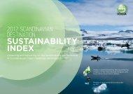2012 Scandinavian Destination Sustainability Index - ICCA