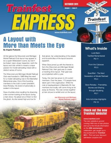 View Printable PDF Version - Trainfest