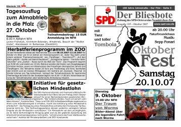 Nr.105 - SPD Zoo