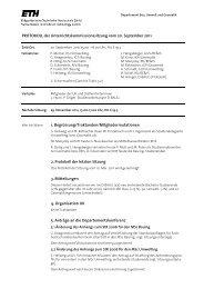 Sitzung 3/11 vom 20.09.11 - Departement Bau, Umwelt und Geomatik