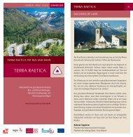 zum Fahrplanheft 2012 - Terra Raetica