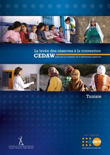 Cedaw francais - UNFPA Tunisie