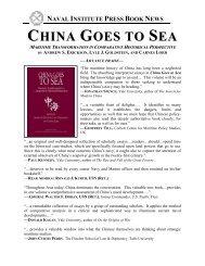 Naval Institute Press - Andrew S. Erickson