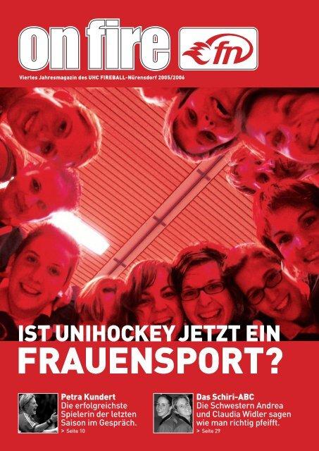 IST UNIHOCKEY JETZT EIN - UHC Fireball Nürensdorf
