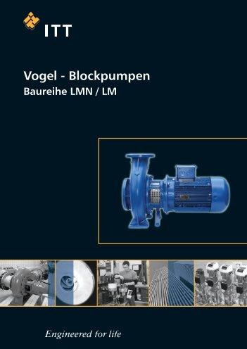 VOGEL Blockpumpen, Baureihe LMN / LM