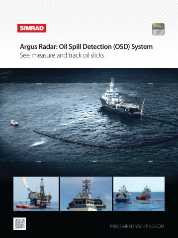 Oil Spill Detection - Simrad Professional Series