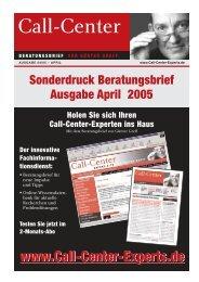 Call-Center - profiTel consultpartner GmbH