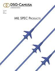 MIL SPEC ProduCtS - DSG-Canusa