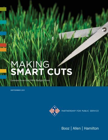 Making Smart Cuts - Booz Allen Hamilton