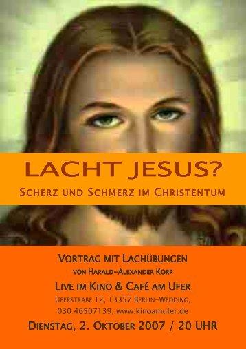 Lacht Jesus - Kino & Cafe am Ufer