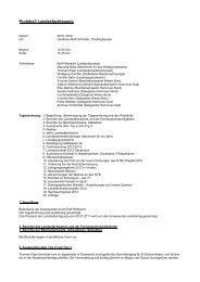 Protokoll Landesfachtagung 2012