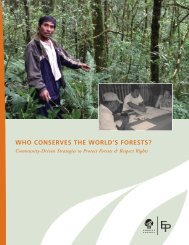Who Conserves the World's Forests? Community-Driven Strategies to