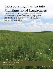 Incorporating Prairies into Multifunctional Landscapes