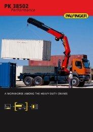 Download brochure - Palfinger ASIA