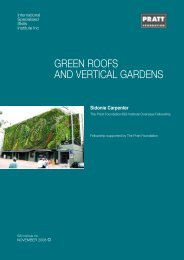 green roofs and vertical gardens - International Specialised Skills ...