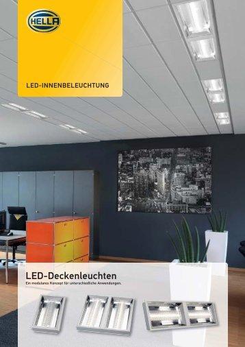 LED-Deckenleuchten - Hella