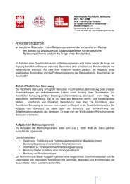 Anforderungsprofil Betreuer - SKM - Katholischer Verein für soziale ...