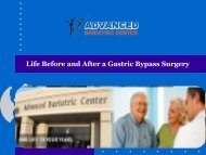 Life Before and After a Gastric Bypass Surgery