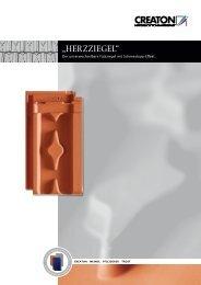 """""""HERZZIEGEL"""" - Creaton AG"""