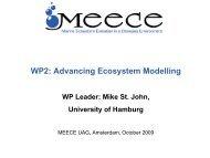 Work package (WP) 2 summary - meece