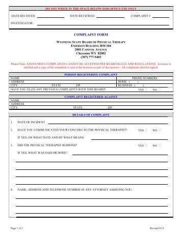 Approved Contractor Consumer Complaints Exle Form Niceic ~ Consumer Form
