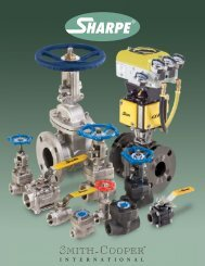 series 5303 economy 3-piece full port ball valve - Sharpe® Valves
