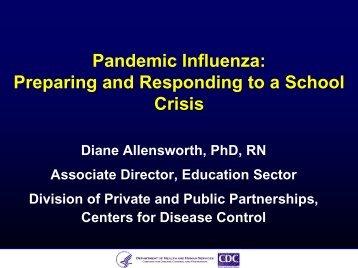 Pandemic Influenza - Readiness and Emergency Management for ...