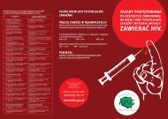 ulotka informacyjna hiv/aids
