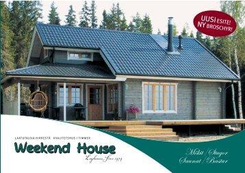Mökit/Stugor Saunat/Bastur - Weekend House